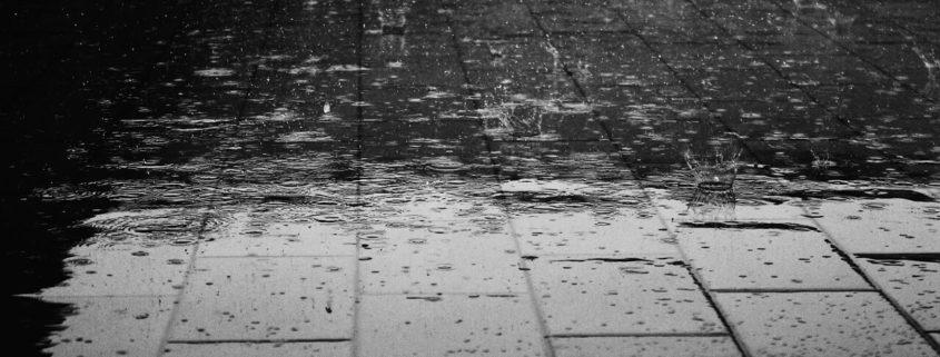 rain and heat